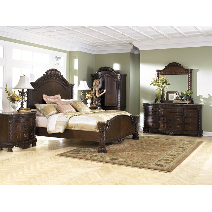Signature Design By Ashley North Shore Panel Customizable Bedroom Set Reviews Wayfair