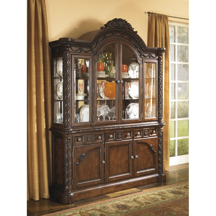 Signature Design by Ashley North Shore China Cabinet
