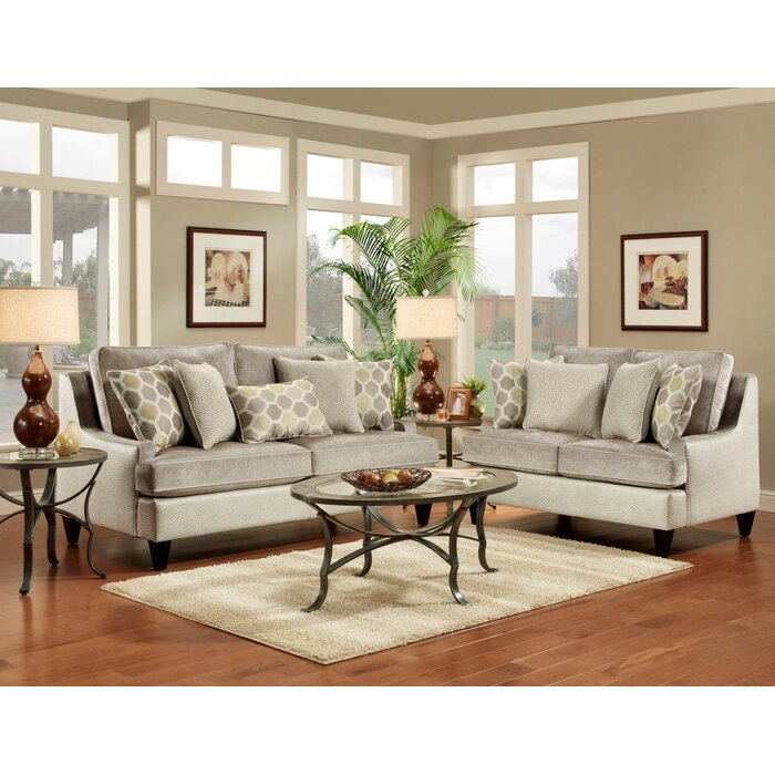 Wildon Home ® Monte Carlo Living Room Collection