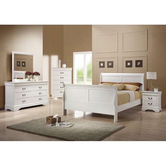 Wildon Home ® Louis Philip Panel Customizable Bedroom Set