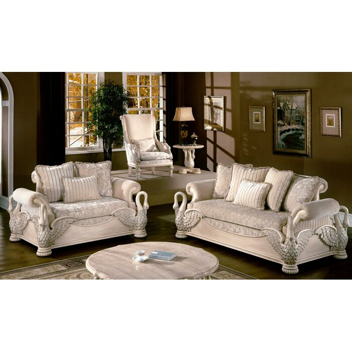 Wildon Home ® Avignon Living Room Collection