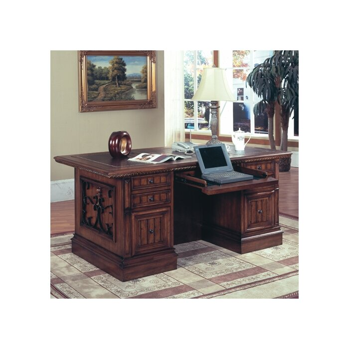 Parker House Furniture Barcelona Double Pedestal Executive Desk