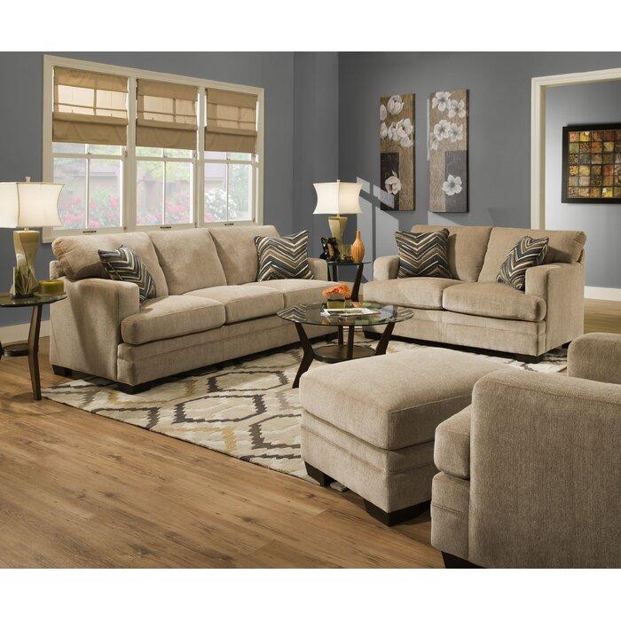 Simmons Upholstery Sassy Barley Living Room Collection Reviews Wayfair