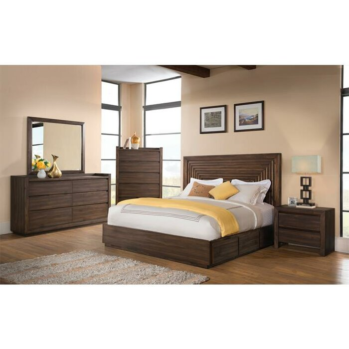 Loon Peak Worden Panel Customizable Bedroom Set