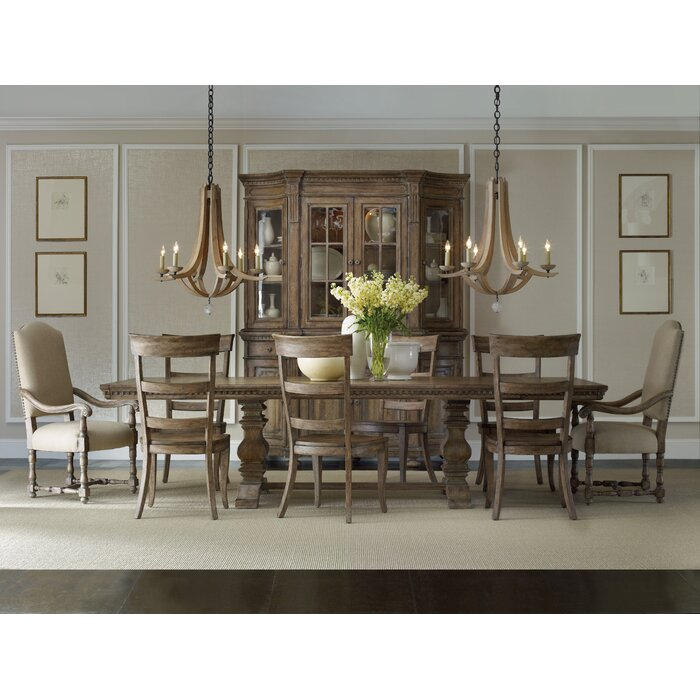 dining furniture 9 piece kitchen dining room sets hooker