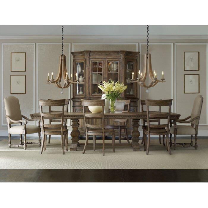 hooker furniture sorella 9 piece dining set reviews wayfair. Black Bedroom Furniture Sets. Home Design Ideas