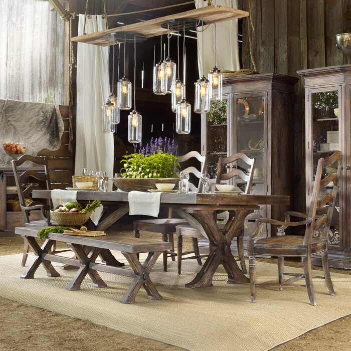 Hooker Furniture Willow Bend 6 Piece D..
