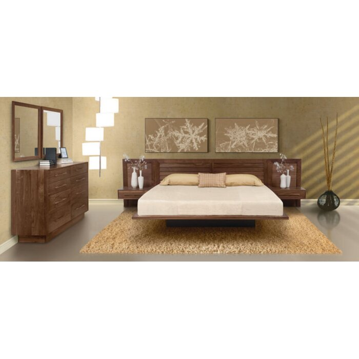 Copeland Furniture Moduluxe Platform Customizable Bedroom Set