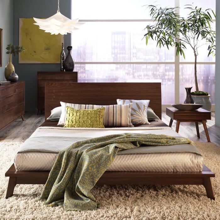 Copeland Furniture Catalina Platform Customizable Bedroom