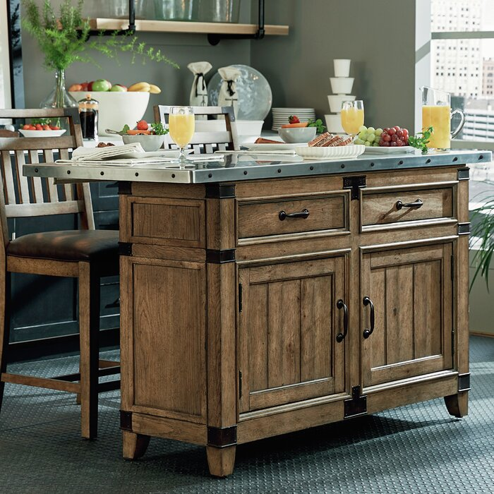 Legacy Classic Furniture MetalWorks Kitchen Isla..