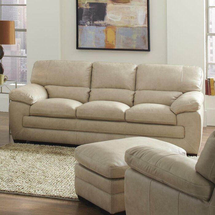 Simon Li Biscayne Leather Living Room Collection