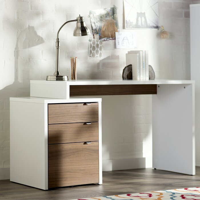 Zipcode™ Design 3 Drawer Writing Desk