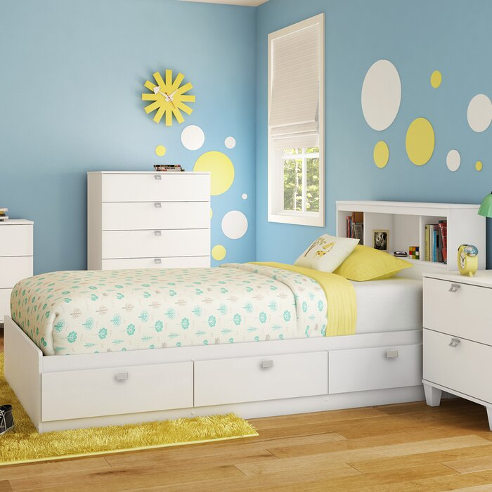 South Shore Karma Mate's Bed with Storage