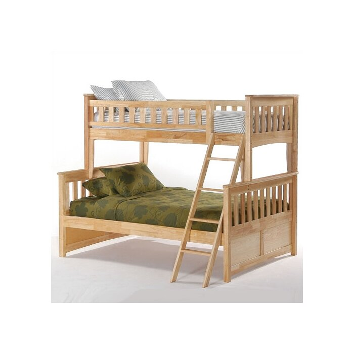 Night & Day Furniture Spices Ginger Twin Bunk Bed