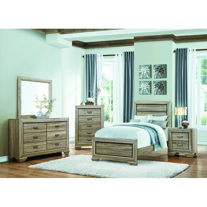 Homelegance Beechnut Panel Customizable Bedroom..