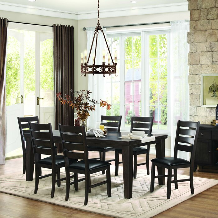 Homelegance Ameillia 7 Piece Dining Set