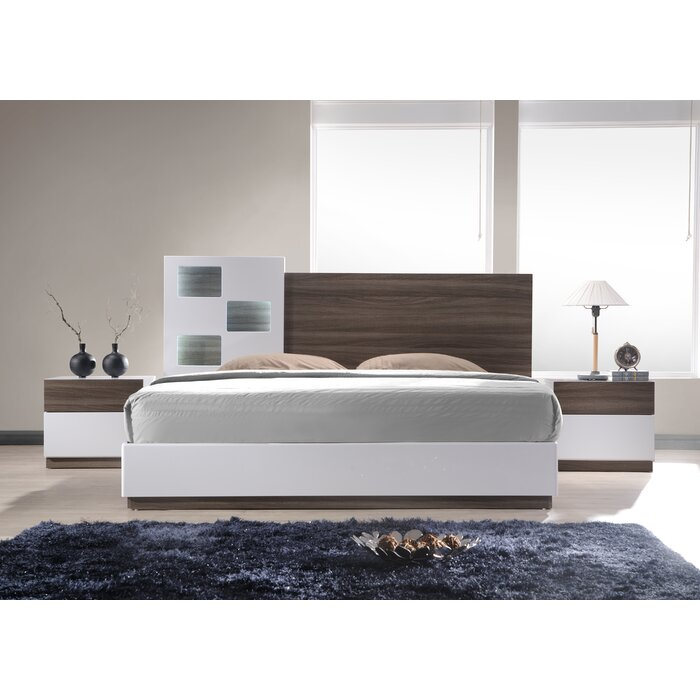 J&M Furniture Sanremo Platform Customizab..
