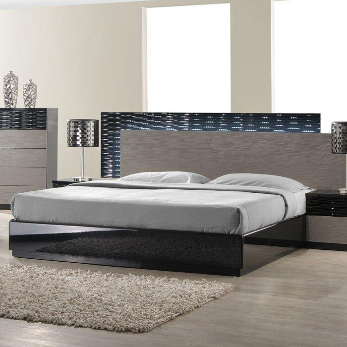 J m furniture roma platform customizable bedroom set for J m bedroom furniture