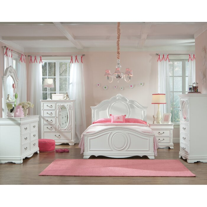 Standard Furniture Jessica Panel Customizable Bedroom Set
