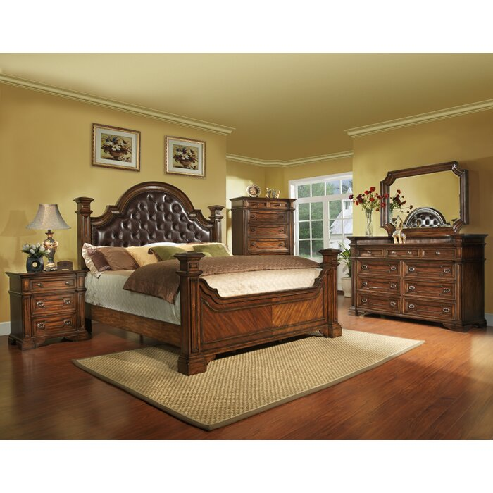 Avalon Furniture Highland Ridge Panel Customizable Bedroom Set