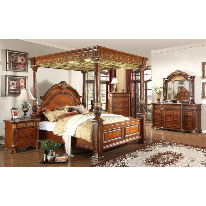 Meridian Furniture USA Royal Queen Canopy..