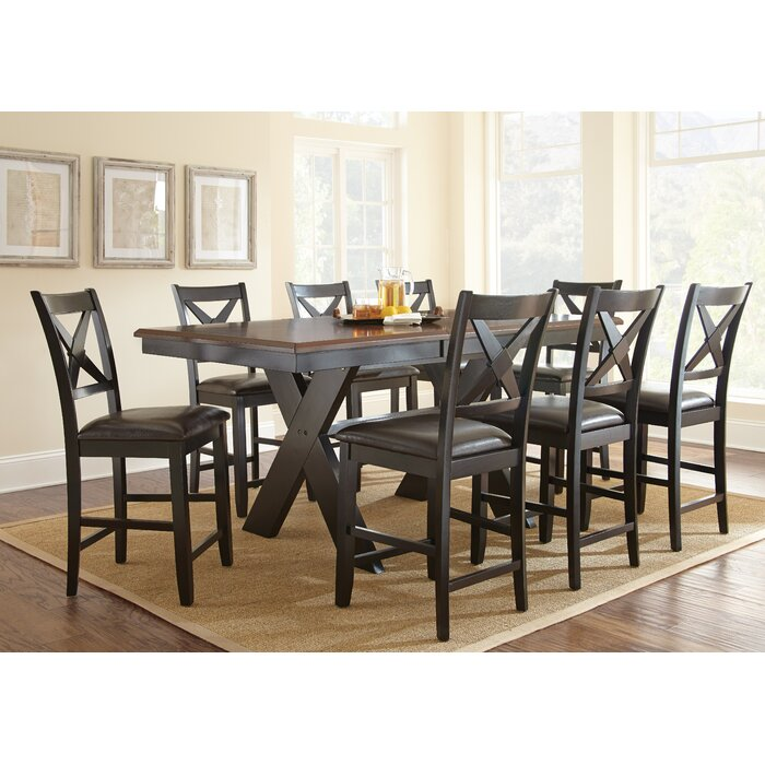 Alcott Hill Violante 9 Piece Dining Set