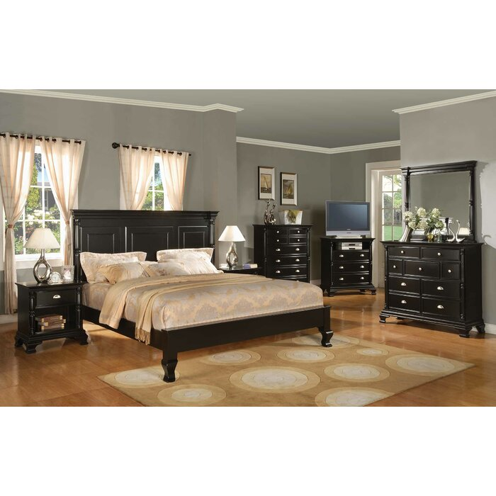 Alcott Hill Panel Customizable Bedroom Set