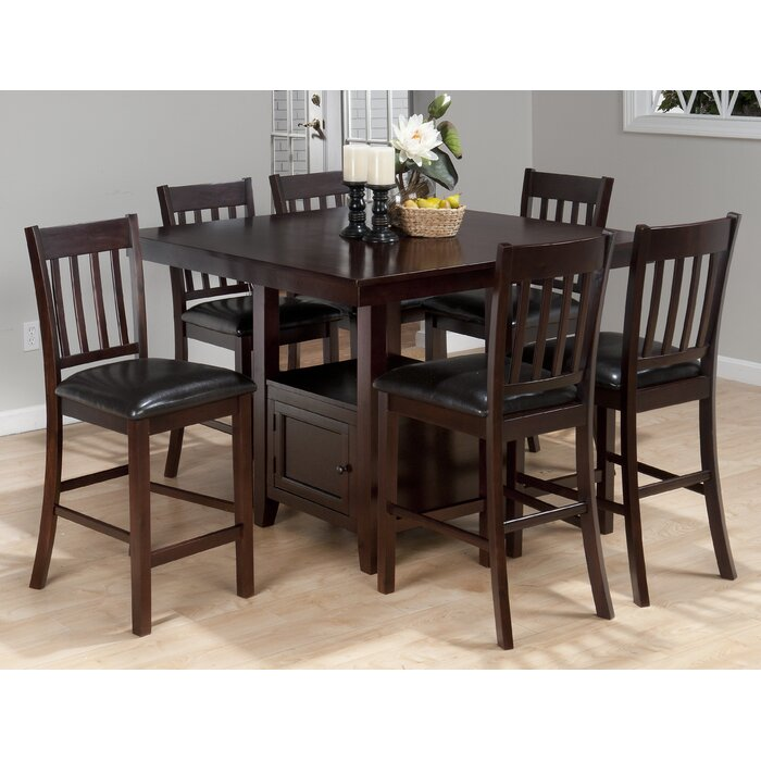 Alcott Hill Oakmeadow 7 Piece Dining Set