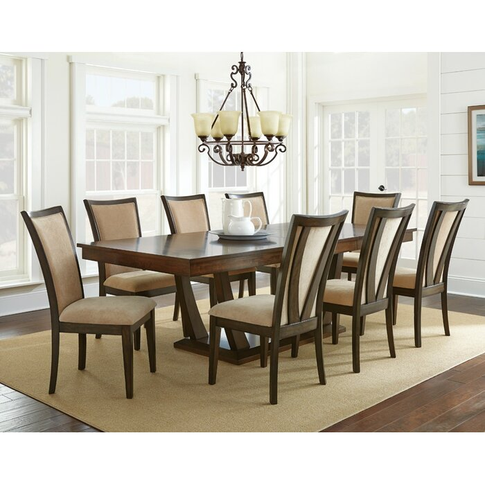 Alcott Hill Sachem 9 Piece Dining Set