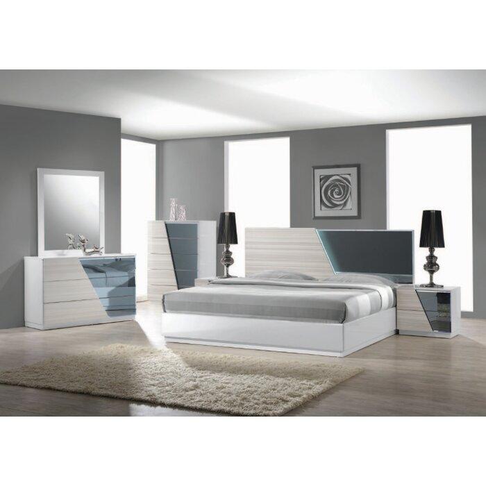 BestMasterFurniture Manchester Platform Customizable Bedroom Set