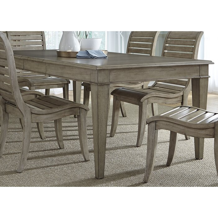 Lark Manor Aya 7 Piece Extendable Dining Table Set