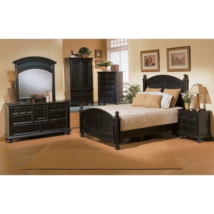 Beachcrest Home Panel Customizable Bedroom Set