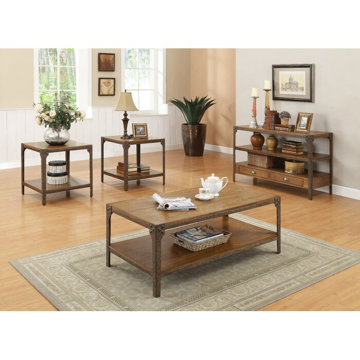 Loon Peak Hingham Coffee Table Set
