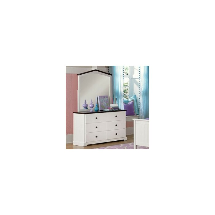 Viv + Rae Chase 6 Drawer Dresser with Mirror
