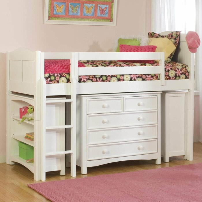 Viv + Rae David Twin Low Loft Bed