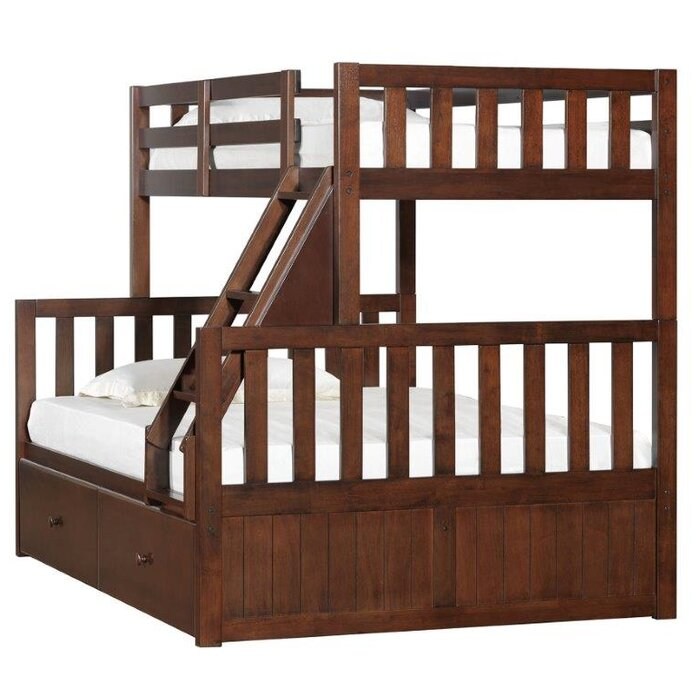 Breakwater Bay Charthouse Twin over Full Bunk Bed with Storage