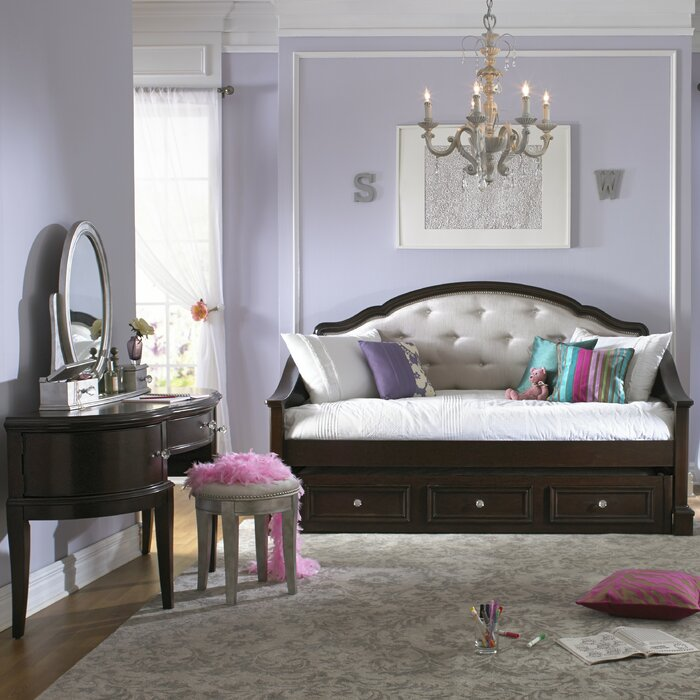 Samuel Lawrence Girls' Glam Panel Customizable Bedroom Set