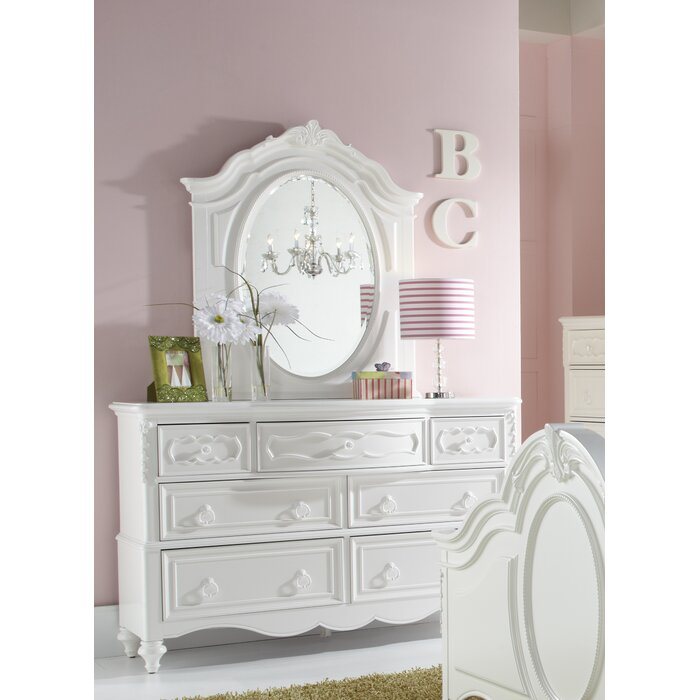 Samuel Lawrence Sweet Heart 7 Drawer Double Dresser