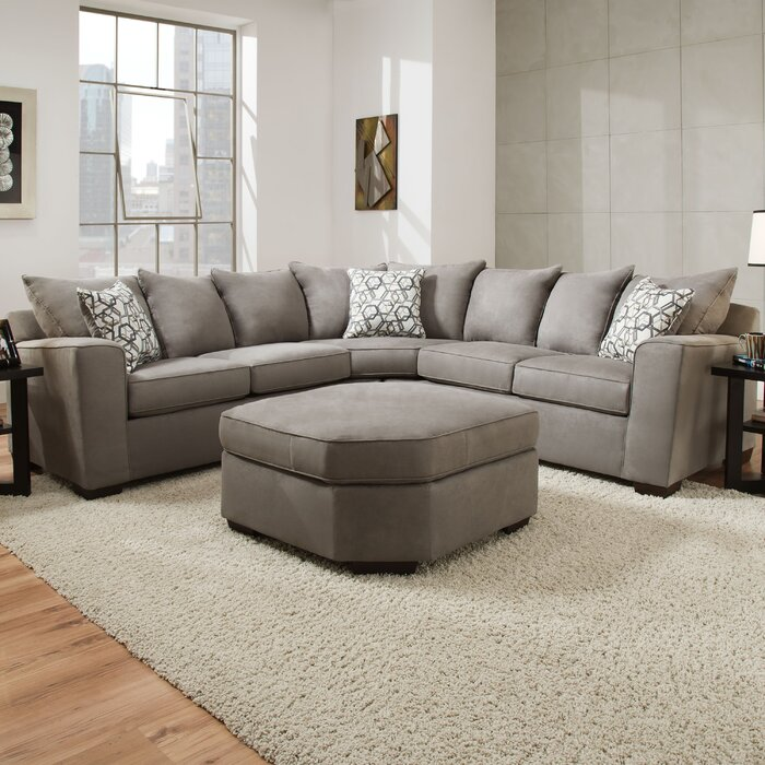 Latitude Run Daisy Sectional by Simmons Upholstery