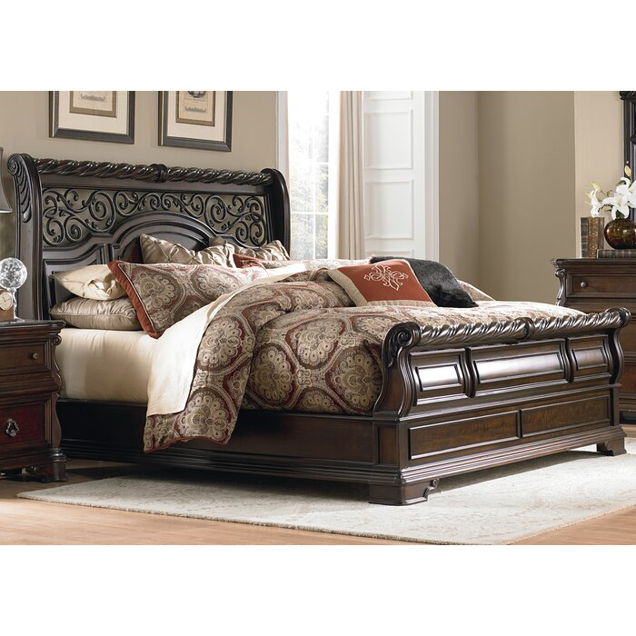 Liberty Furniture Arbor Place Sleigh Bed