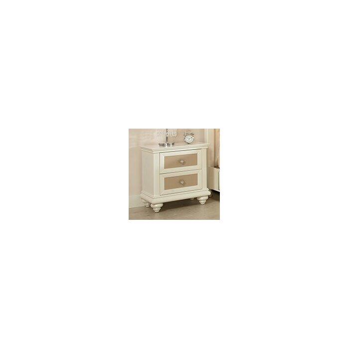Najarian Furniture Paris Platform Customizable Bedroom Set