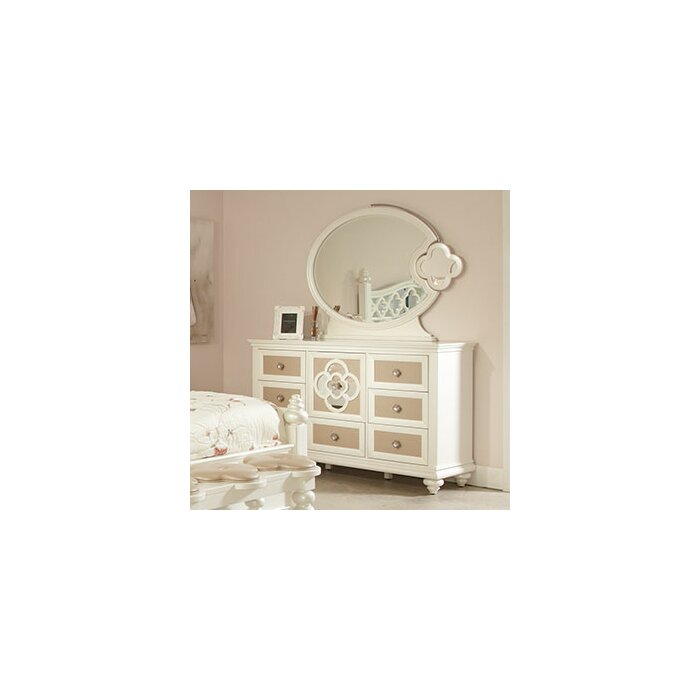 Najarian Furniture Paris 7 Drawer Combo Dresser ..