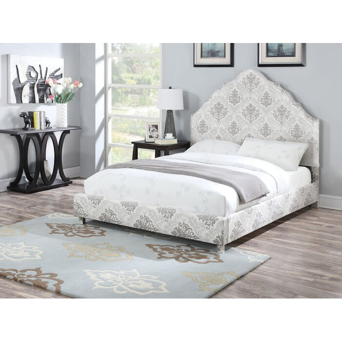 ACME Furniture Clarisse Upholstery Panel Bed