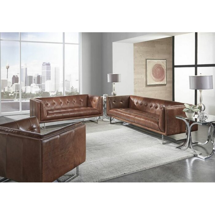 Lazzaro Leather Teague Living Room Collection