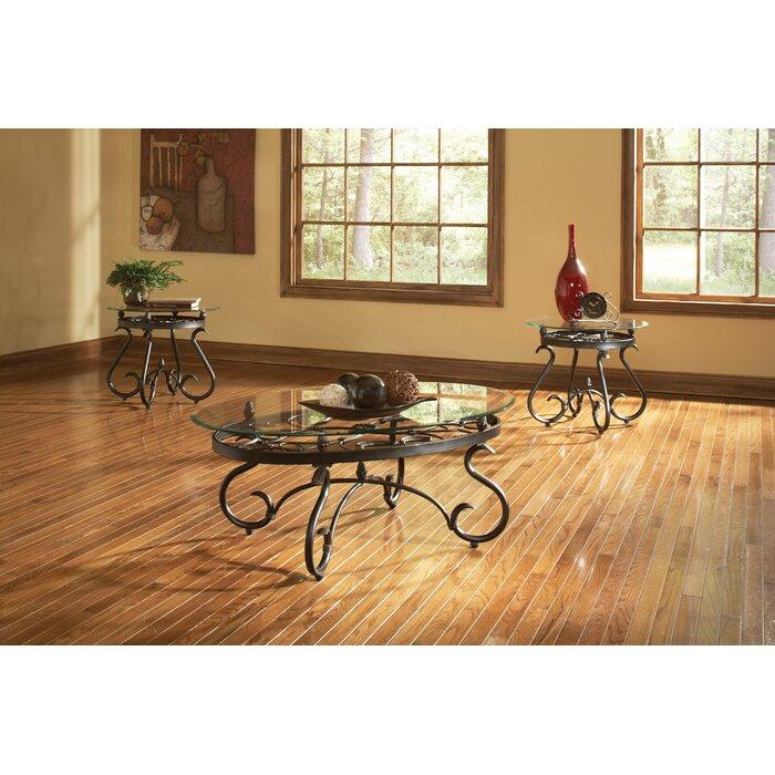Andover Mills Merrimack 3 Piece Coffee Table Set
