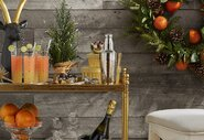 One Bar Cart, Three Ways to Entertain