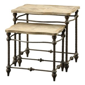 2-Piece Bella Nesting Table Set