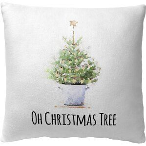 Oh Christmas Tree Pillow