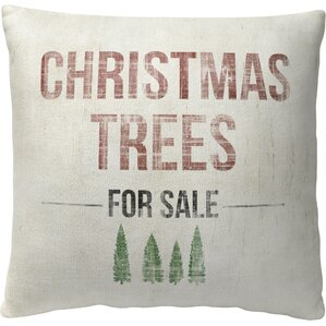 Trees for Sale Pillow