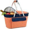 Picnic Time 29 Can Market Basket Aviano Tote Picnic Cooler